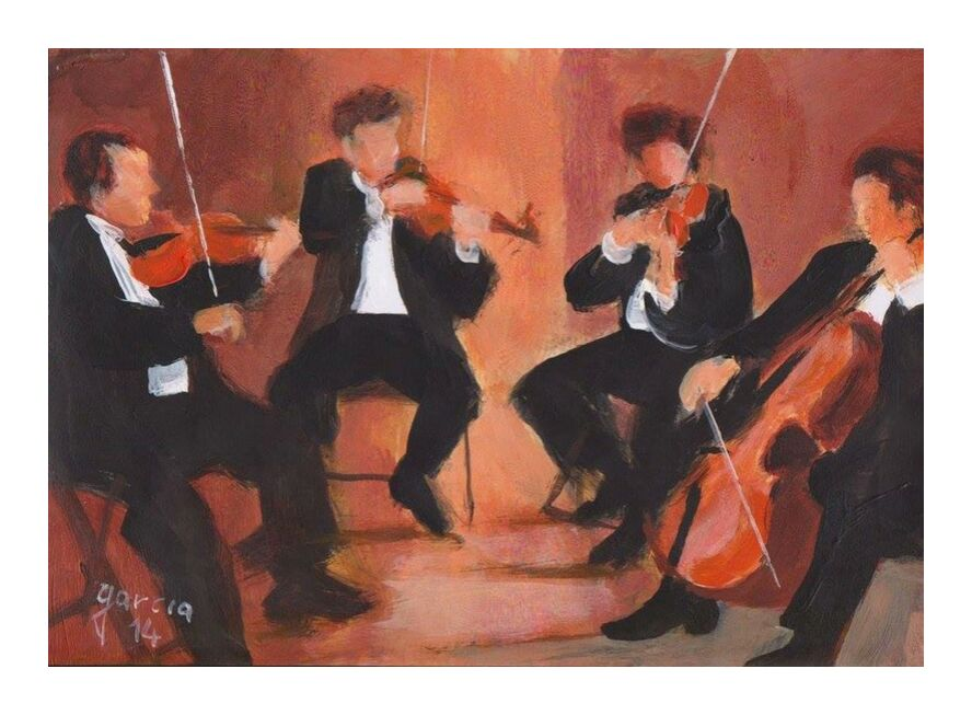 Reproduction de peinture acrylique musique from claude garcia, Prodi Art, art, drawing, painting, reproduction