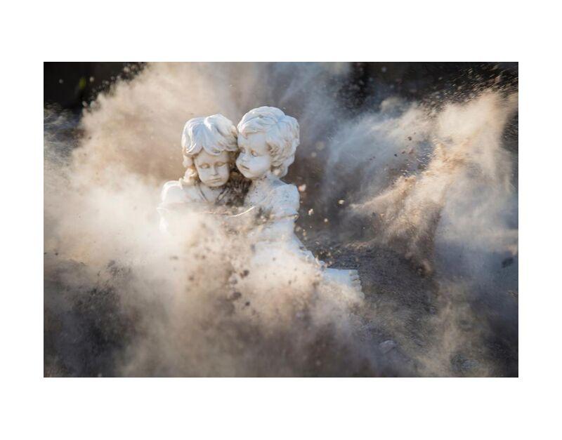 براءة from Aliss ART, Prodi Art, statues, justifyyourlove, innocent, dust, damaged, explosion, angelic, stones, rocks, outdoors, girl, daylight, colors, boy, art, abstract