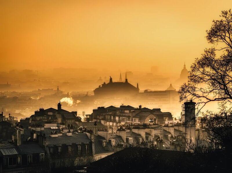 Capitale sous le brouillard from Aliss ART Decor Image