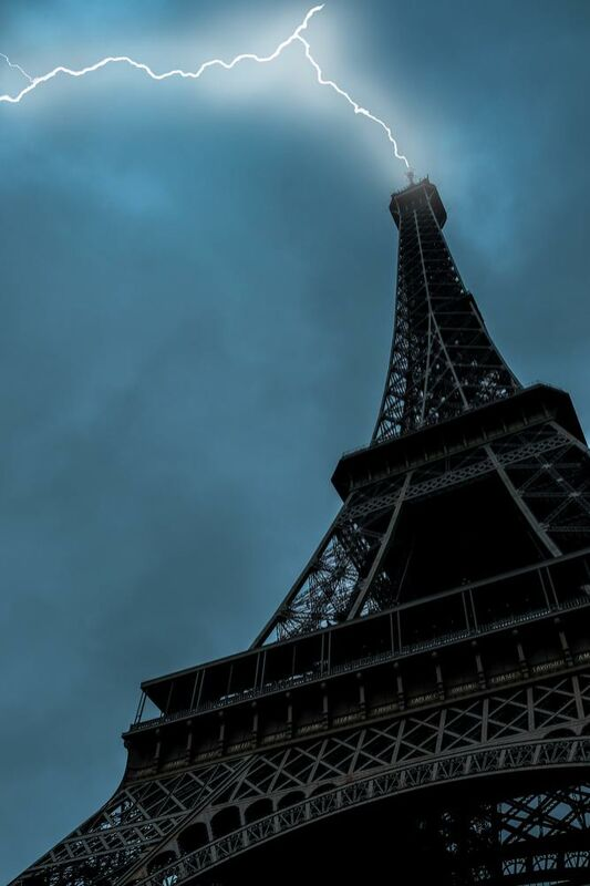 Coup de foudre à Paris de Aliss ART Decor Image
