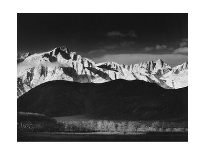Winter Sunrise from Lone Pine,... from AUX BEAUX-ARTS, Prodi Art, Art photography, Giclée Art print, Standard frame sizes, Prodi Art