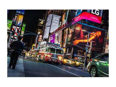 NY Street from Caro Li, Prodi Art, Art photography, Giclée Art print, Standard frame sizes, Prodi Art