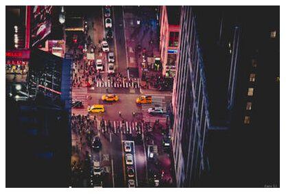 New-York by night from Caro Li, Prodi Art, Art photography, Giclée Art print, Prodi Art