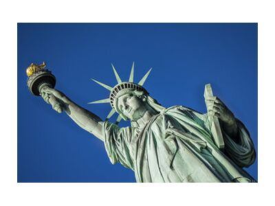 Statut de la liberté de Caro Li, Prodi Art, Photographie d'art, Impression d'art, Tailles de cadre standard, Prodi Art