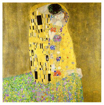 The Kiss - Gustav Klimt from AUX BEAUX-ARTS, Prodi Art, Art photography, Giclée Art print, Prodi Art