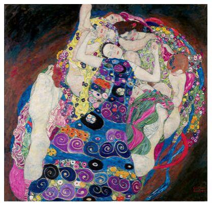 The Virgin - Gustav Klimt from AUX BEAUX-ARTS, Prodi Art, Art photography, Giclée Art print, Prodi Art