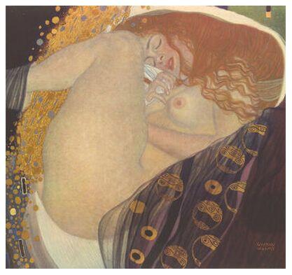 Danae I - Gustav Klimt from AUX BEAUX-ARTS, Prodi Art, Art photography, Giclée Art print, Prodi Art