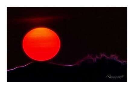 Artistic Sunset from Mayanoff Photography, Prodi Art, Art photography, Giclée Art print, Prodi Art