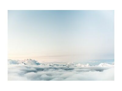 Over the clouds from Pierre Gaultier, Prodi Art, Art photography, Art print, Standard frame sizes, Prodi Art