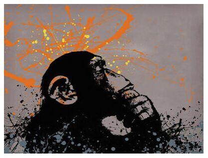 Thinker monkey - BANKSY from AUX BEAUX-ARTS, Prodi Art, Art photography, Giclée Art print, Prodi Art