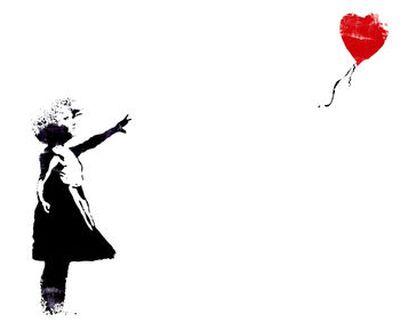 Heart Balloon - BANKSY from AUX BEAUX-ARTS, Prodi Art, Art photography, Giclée Art print, Prodi Art