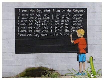 Simpsons - BANKSY from AUX BEAUX-ARTS, Prodi Art, Art photography, Giclée Art print, Prodi Art