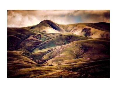 Hilly landscape from Pierre Gaultier, Prodi Art, Art photography, Art print, Standard frame sizes, Prodi Art