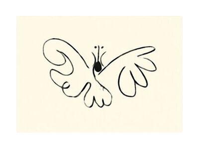 The Butterfly - Picasso from AUX BEAUX-ARTS, Prodi Art, Art photography, Giclée Art print, Standard frame sizes, Prodi Art