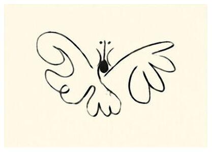 The Butterfly - Picasso from AUX BEAUX-ARTS, Prodi Art, Art photography, Giclée Art print, Prodi Art