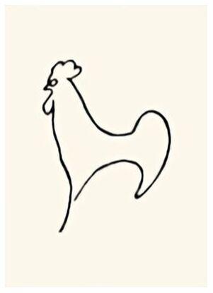 Coq-Detail - Picasso from AUX BEAUX-ARTS, Prodi Art, Art photography, Giclée Art print, Prodi Art