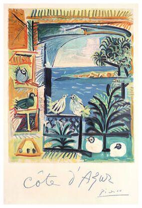 Côte d'Azur - The studio of V... from AUX BEAUX-ARTS, Prodi Art, Art photography, Giclée Art print, Prodi Art