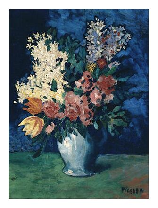 Flowers 1901 - Picasso from AUX BEAUX-ARTS, Prodi Art, Art photography, Giclée Art print, Prodi Art