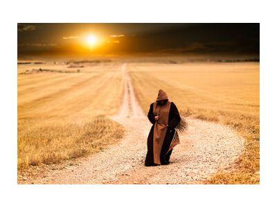 The walk of the monk from Pierre Gaultier, Prodi Art, Art photography, Giclée Art print, Standard frame sizes, Prodi Art