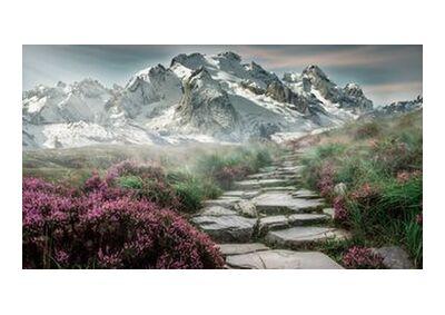 Mountain path from Pierre Gaultier, VisionArt, Art photography, Art print, Standard frame sizes, Prodi Art