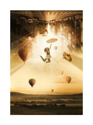 New York in the air from Pierre Gaultier, Prodi Art, Art photography, Giclée Art print, Standard frame sizes, Prodi Art