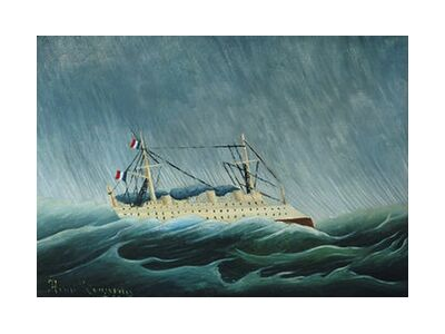 The storm tossed vessel from Aux Beaux-Arts, Prodi Art, Art photography, Art print, Standard frame sizes, Prodi Art