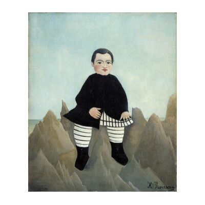 Boy on the Rocks from Aux Beaux-Arts, Prodi Art, Art photography, Art print, Standard frame sizes, Prodi Art