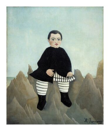 Boy on the Rocks from AUX BEAUX-ARTS, Prodi Art, Art photography, Giclée Art print, Prodi Art