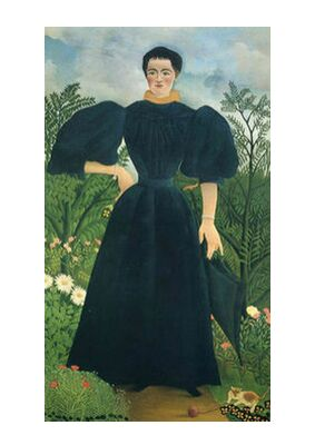Portrait of a woman from Aux Beaux-Arts, Prodi Art, Art photography, Art print, Standard frame sizes, Prodi Art