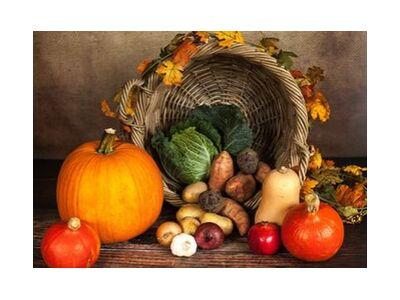 Panier de légumes de Pierre Gaultier, Prodi Art, Photographie d'art, Impression d'art, Tailles de cadre standard, Prodi Art