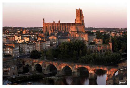 Albi Episcopal City - Copyrigh... from Thierry Pons, Prodi Art, Art photography, Giclée Art print, Prodi Art