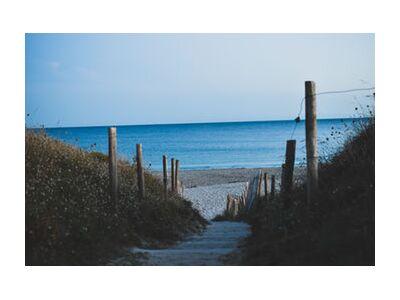 Let's go the beach from Loïse Raoult, VisionArt, Art photography, Art print, Standard frame sizes, Prodi Art
