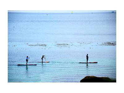 Paddle from Loïse Raoult, VisionArt, Art photography, Art print, Standard frame sizes, Prodi Art