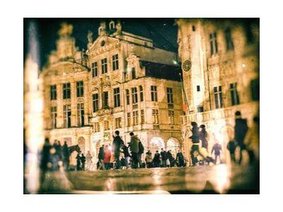 Bruxelles de Pierre Rousseau, Prodi Art, Photographie d'art, Impression d'art, Tailles de cadre standard, Prodi Art