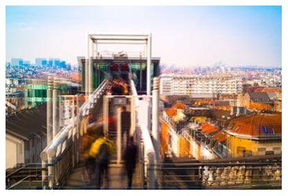 L'Ascenseur from Pierre Rousseau, Prodi Art, Art photography, Art print, Prodi Art