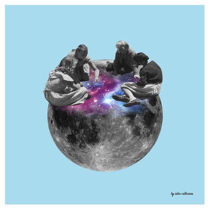 On the moon from IULIA CATINEANU, Prodi Art, Art photography, Giclée Art print, Prodi Art