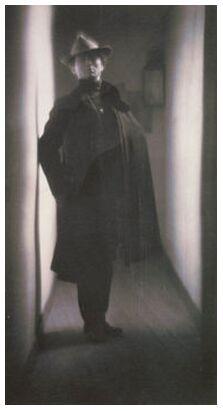 Edward Steichen by Fred Holland Day - 1901 from Aux Beaux-Arts, Prodi Art, Art photography, Art print, Prodi Art