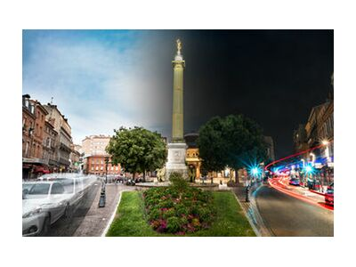 Colonne angélique from Tanguy Chausson, Prodi Art, Art photography, Art print, Standard frame sizes, Prodi Art