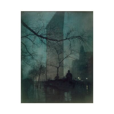 Flatiron Building, New York - Edward Steichen 1904 from Aux Beaux-Arts, Prodi Art, Art photography, Art print, Standard frame sizes, Prodi Art