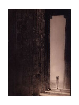 Isadora Duncan in the Parthenon - Edward Steichen 1921 from Aux Beaux-Arts, Prodi Art, Art photography, Art print, Standard frame sizes, Prodi Art