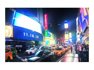 Times Square from Cyril Jourdan, VisionArt, Art photography, Art print, Standard frame sizes, Prodi Art