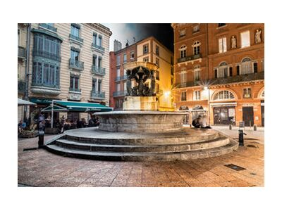 Fontaine tranquille from Tanguy Chausson, Prodi Art, Art photography, Art print, Standard frame sizes, Prodi Art