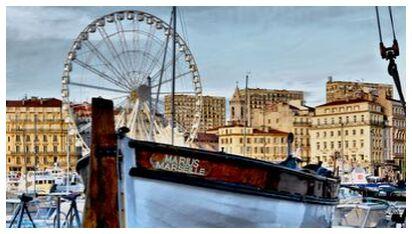 Marseille vieux port Marius from Frédéric Traversari, Prodi Art, Art photography, Giclée Art print, Prodi Art
