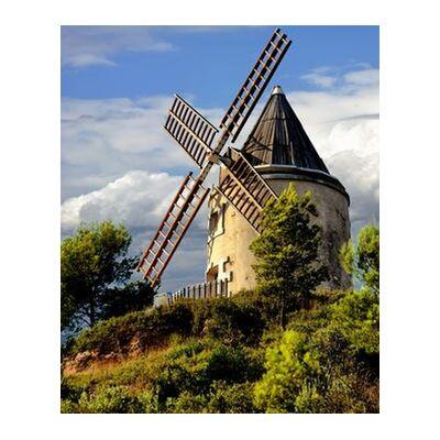 Moulin de Martigues de Frédéric Traversari, VisionArt, Photographie d'art, Impression d'art, Tailles de cadre standard, Prodi Art