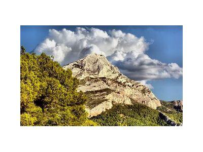 Montagne de la Sainte Victoire de Frédéric Traversari, VisionArt, Photographie d'art, Impression d'art, Tailles de cadre standard, Prodi Art