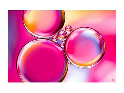 Oily bubbles #8 from Mickaël Weber, Prodi Art, Art photography, Giclée Art print, Standard frame sizes, Prodi Art