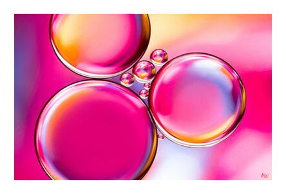Oily bubbles #8 from Mickaël Weber, Prodi Art, Art photography, Giclée Art print, Prodi Art