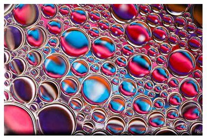 Oily bubbles #12 from Mickaël Weber, Prodi Art, Art photography, Giclée Art print, Prodi Art