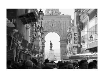 Lisbonne de Caro Li, Prodi Art, Photographie d'art, Impression d'art, Tailles de cadre standard, Prodi Art