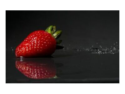 The strawberry from Pierre Gaultier, Prodi Art, Art photography, Art print, Standard frame sizes, Prodi Art